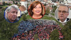Oslavy 28. října? ODS tepe Zemana, Schillerová razí na Hrad a Dolejš vzpomíná na celu
