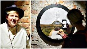 Výstava Malého prince s interaktivními ilustracemi: Návštěvníci unikají do světa fantazie skrze své telefony