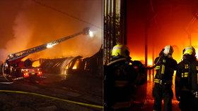 Požár bytového domu v Brně: V nemocnici skončilo 6 lidí, včetně dítěte!