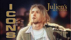 V USA dražili svetr zpěváka Nirvany Kurta Cobaina (†27): Čistý příliš nebyl a laciný už vůbec ne!