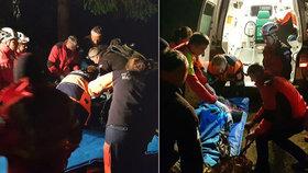 Český turista se v Rumunsku zřítil do 50 metrů hluboké rokle: Záchranu těžce zraněného komplikovaly divoké šelmy!