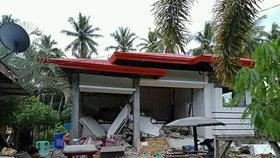 Filipíny zasáhlo další zemětřesení: Hotel šel k zemi jako domeček z karet, pět mrtvých
