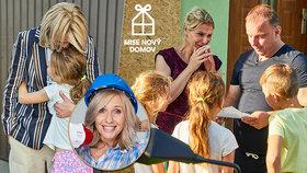 Nová Mise nový domov: Milan se stará o 4 holky, kterým ubodali mámu!