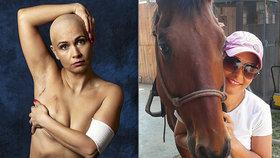 Boj Markéty (45) s rakovinou prsu: I motýli pláčou, napsala