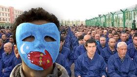 Šikana proti Ujgurům v Číně: Vězní je i za plnovous nebo šátek, odhalily dokumenty