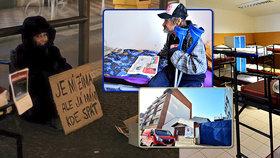 Bezdomovcům v mrazech pomůže Nocleženka: Poskytne noc v teple i možnost začít znovu