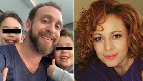 Moderátorka po únosu synů (8 a 6) dostala drsnou facku! Nechtějí se vrátit domů