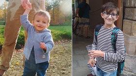 Kryštof trpí vzácnou chorobou, má ji jen 50 dětí na světě: V pubertě vypadá jako desetiletý