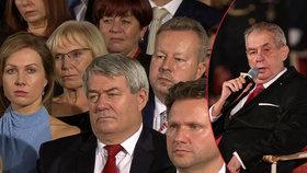 """Vysekl poklonu """"půvabné"""" ženě kolegy. Brabec promluvil o Zemanovi i obstrukcích opozice"""