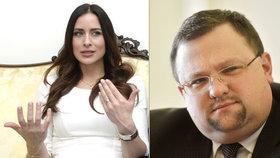 """Alex Mynářová nelítostně sepsula Forejta: """"Je to odborník na kokain a prostituty"""""""