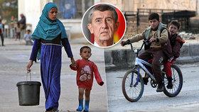 """Babišův plán selhal, Češi centrum pro sirotky v Sýrii nepostaví: """"Nedomluvili jsme se"""""""