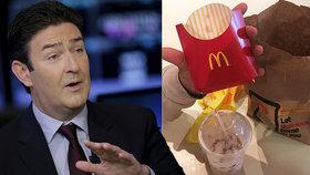 Ředitel McDonald's končí. Může za to milenka na pracovišti