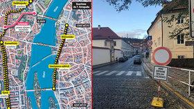 Úředníci se zbláznili? Centrum Prahy uzavřeno na obou březích Vltavy! Kudy to objet?