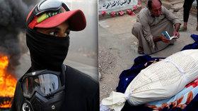 5 zastřelených demonstrantů, krev a plameny v ulicích: V Iráku to vře