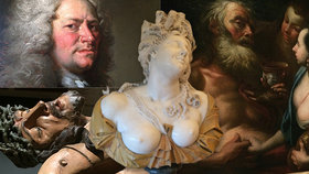 Schwarzenberský palác otevírá klenotnici starých mistrů sochařů a malířů: Cranach, Goya i Škréta s Braunem