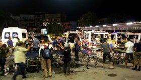 Nejkrvavější útok v Thajsku za poslední roky: Zemřelo nejméně 15 lidí