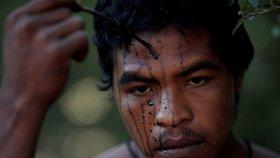 """Amazonie ztratila svého ochránce. """"Vlka"""" zastřelili v Brazílii nelegální těžaři"""