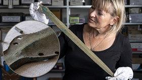 Na Rychnovsku našli 3000 let starý meč. Bronzový poklad čelí přísnému utajení