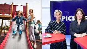 Na co si dát u zvýšení rodičovské pozor? Maláčová s náměstkyní poradily v Blesku
