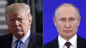 Bude následovat Zemana? Trump zvažuje cestu do Moskvy na výročí konce války
