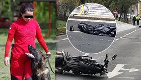 Petru na Smíchově srazil motorkář: Kamarádi od hasičů sdíleli dojemnou vzpomínku