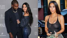 kdy začala kanye chodit s kim kardashianem randit s někým, kdo má dítě na cestě