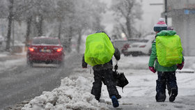 Sousedy zasypal sníh: Školy v Rakousku zavřely, horská služba varuje před lavinami