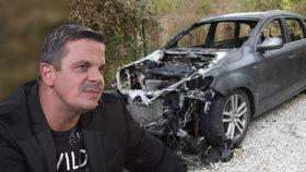 Šéf Partičky Dano Dangl v šoku: Auto mu podpálili mafiáni!