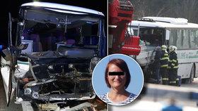 Učitelka Martina zemřela při nehodě autobusu u Mělníka: Reakce manžela vyrazí dech
