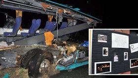 Mrazivé vzkazy příbuzných zesnulých z autobusu smrti: Ztratili ty nejmilovanější