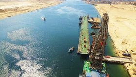 Suezský průplav slaví 150 let. Chtěl ho už Napoleon, ale přepočítal se