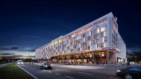 Místo hřiště Hard Rock Hotel: Na Letné roste Křetínského komplex za pět miliard