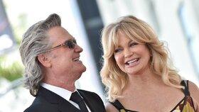 Goldie Hawn: Proč si ani po 35 letech nevzala Kurta Russella? Tohle je její recept na štěstí