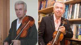 Vyhořelý houslista Jaroslav Svěcený: Přiznal, co mu zachránilo život