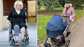 Miluše Bittnerová náhle bez vozíku: Vyléčil ji porod dcery!