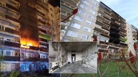 Ohnivé peklo v Praze: Co může za smrt invalidní Veroniky?  Zaostalá protipožární ochrana, nebo nejezdící výtah?