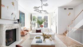 Rekonstrukce vrátila lesk starému domu v Brooklynu. Podívejte se na domov za 340 milionů!