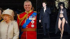 Syn královny Andrew lhal o divokých večírcích! Fotky s prsaticemi jako důkaz