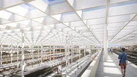 Správa železnic hledá návrh nového sídla za dvě miliardy. Bude součástí terminálu na Smíchově