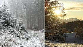 V Česku je až 15 °C, v Alpách se rozjíždí vleky. Meteoroložka řekla, jaká bude zima