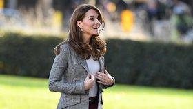 Které značky nosí vévodkyně Kate? Nakupuje i v běžných řetězcích!