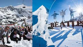 Obertauern láká na nejprudší sjezdovku Evropy, legendární The Beatles i výhru v truhle