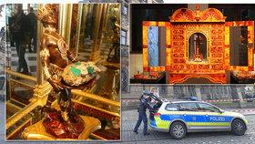 Velká miliardová krádež: Zloději odnesli šperky i drahé kameny ze slavné klenotnice