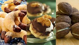 Nejlepší plněné cukroví: Ořechy, rohlíčky i išlské dortíčky