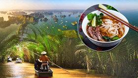Příroda, jídlo a milí lidé: 5 důvodů, proč navštívit Vietnam!