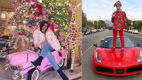 Takové jsou Vánoce mladých a bohatých: Luxus i nevkus v podání zlaté mládeže