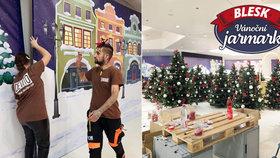 Největší vánoční trhy v Česku otvírají v pátek: Co vás na Vánočním jarmarku Blesku čeká?
