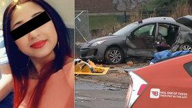 Simonka (†17) zemřela při nehodě v Kanadě: S přítelem jeli na oběd, když do nich narazilo taxi