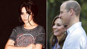 Drsné přiznání megastar Cabelloové: Okradla jsem Kate a Williama! Jak reagovali?