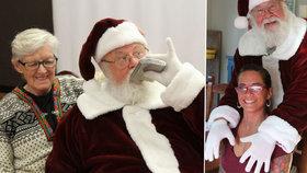 Santa je úchyl! Dědečka vyhodili za pikantní fotky se ženami